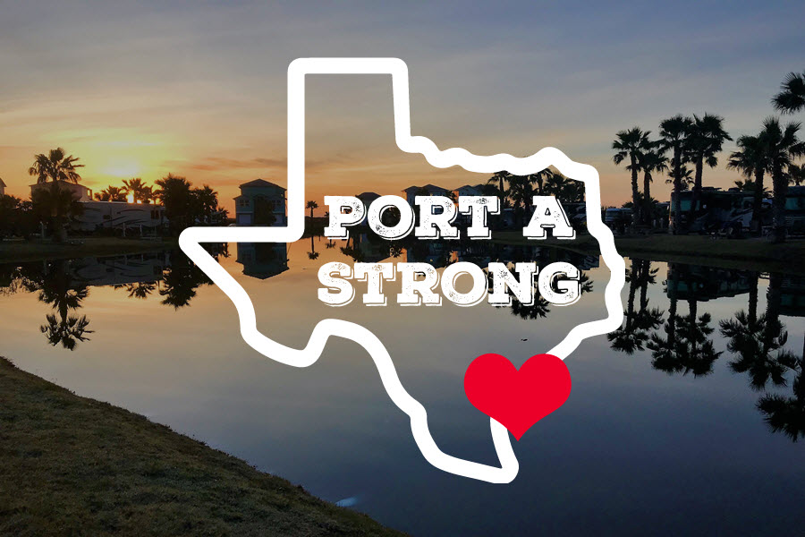 We are Port Aransas Strong!